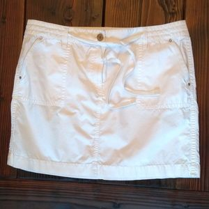 Ann Taylor white skirt